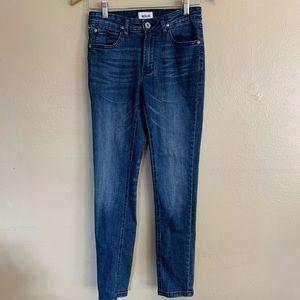 Hudson   Mid-Rise Skinny Jeans   28